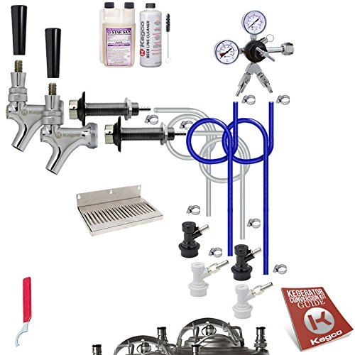 Kegco Ultimate Door Mount Kegerator 2 Tap Conversion Kit – No Tank – EBUCK2-NT Review